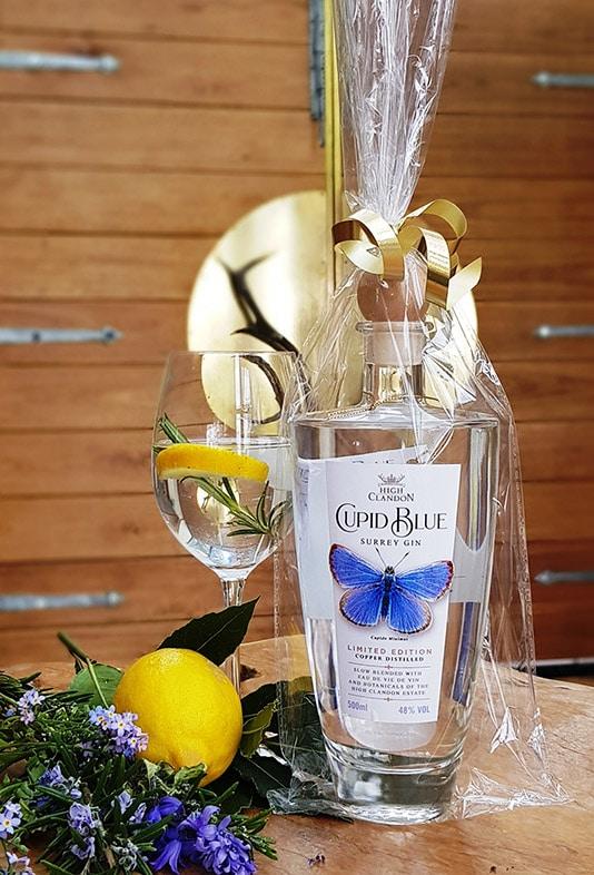 High Clandon Cupid Blue Gin