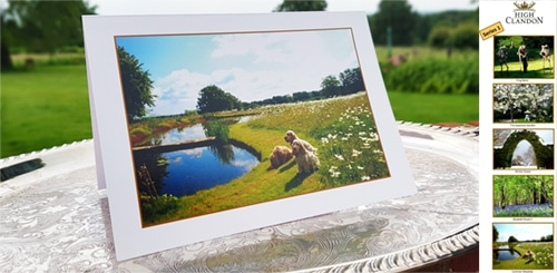 High Clandon Greeting cards series 1 small